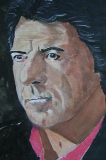 Dustin Hoffman by dabeechey